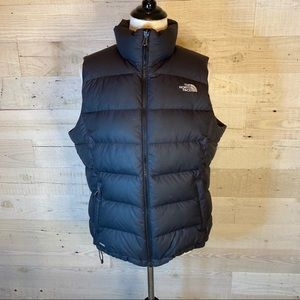 The North Face 700 Down Vest Black Womens Large